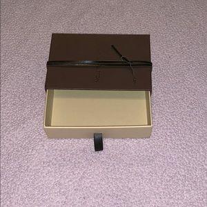 Louis Vuitton small wallet box